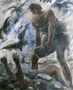 """Kain"" by Lovis Corinth, image is public domain. https://upload.wikimedia.org/wikipedia/commons/5/50/Lovis_Corinth_Kain_1917.jpg, https://commons.wikimedia.org/wiki/File:Lovis_Corinth_Kain_1917.jpg"